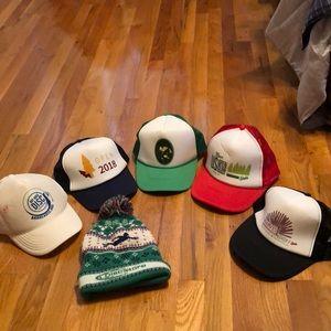 Ultimate frisbee hats